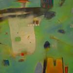 Aqualum, 120x180cm, tela.