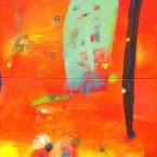 e- Fuegopasión 140x140cm díptico