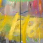 Primavera 11 diptico tela 80x240cm