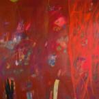 Rojo Indio  150x200cm a s tela