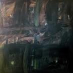 Caja Negra   150x150cm  a s tela