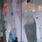 Desierto Muro  120x240cm  a s tela  Dïptico