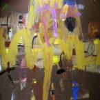 Primavera Ocre   a s tela 180x140cm